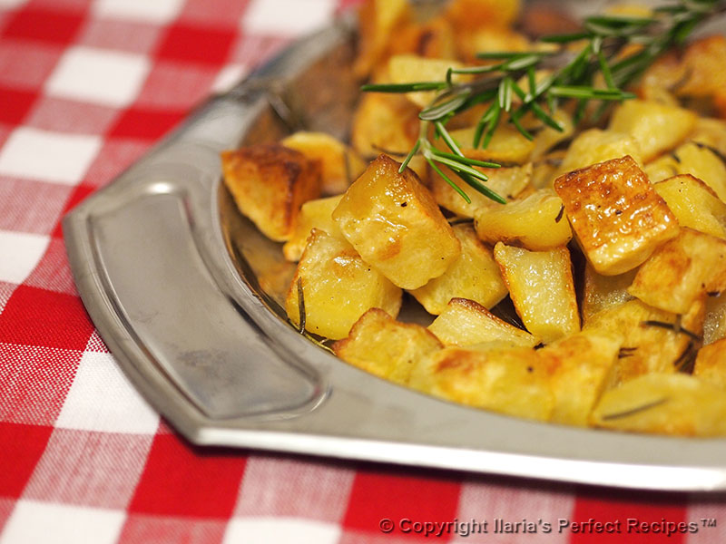 roasted potatoes best italian rosemary garlic