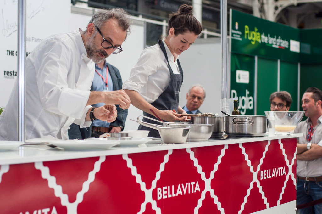 massimo, bottura, bellavita, expo, london, italian, chef, winner, best, restaurant, show, cooking, regional, food, italian regional food