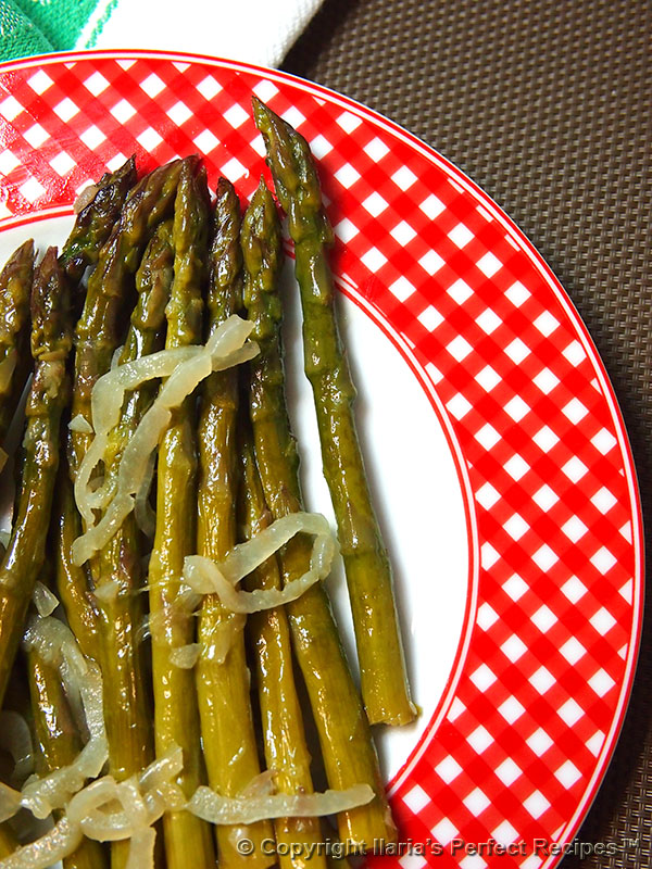 asparagus onion white wine italian best