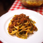 authentic best tagliatelle bolognese sauce