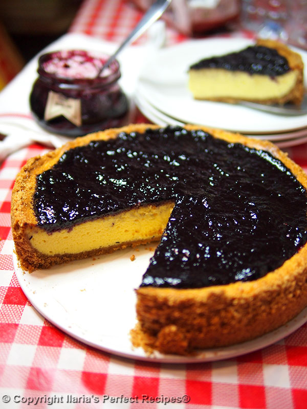 Authentic Italian Cheesecake (Torta di Ricotta e ...