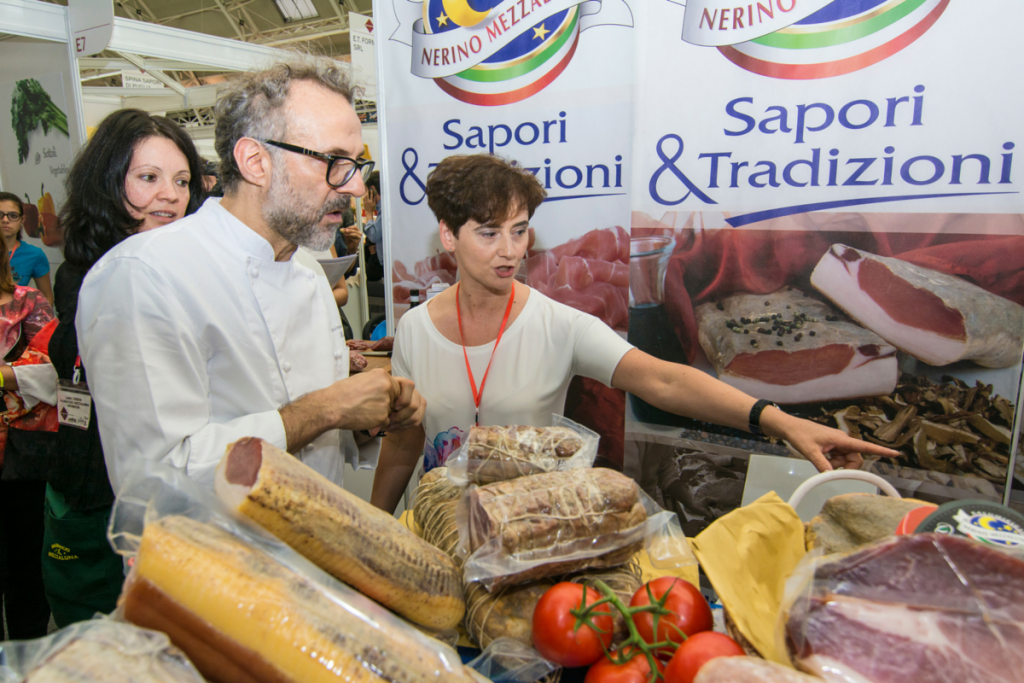 massimo, bottura, chef, bellavita, expo, regional, italian, food, authentic, show