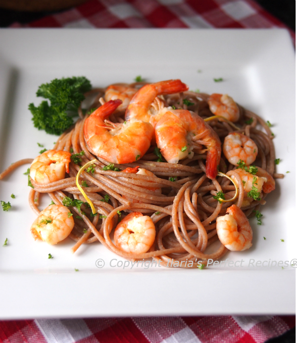 easy, quick, shrimp, pasta, sauce, prawn, sauce, italian