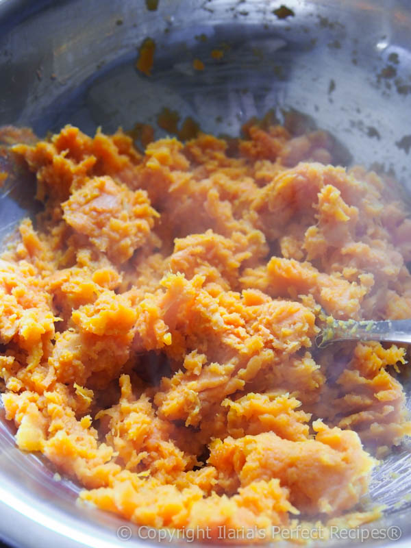 sweet potato mashed pumpkin squash